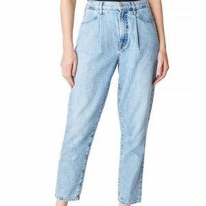 J Brand Pleat Front Peg Jeans, new with tag attach